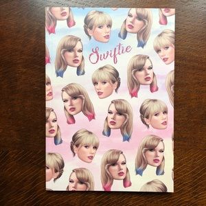 Taylor Swift Notebook. New. Never used!